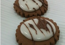 Galletas de chocolate y glase