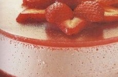 Mousse de fresa