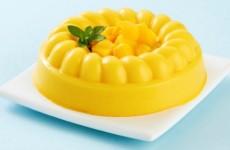 Gelatina de piña y mango